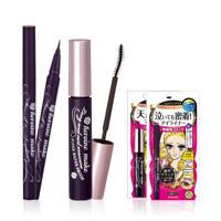 LONG and CURL MASCARA SWP smooth liquid eyeliner SUPER KEEP BLACK 眼线液