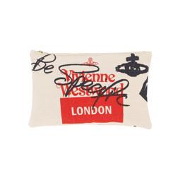 Pouch Made in Kenya LONDON CREAM 手拿包