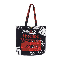 Shopper Made in Kenya LONDON NAVY 手提包