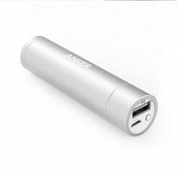 PowerCore+ 3350mAh 移动电源/充电宝 便携口红随身电源 A1104 银色