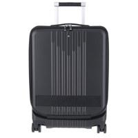 FRINT POCKET CARRIER TROLLEYBLACKMY4810登机旅行箱带前袋黑色