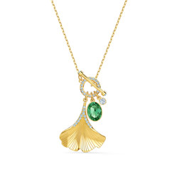 STUNNING:NECKLACE GINKO DMUL/GOS