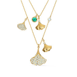 STUNNING:NECKLACE DB GINKO ENIT/CRY/GOS