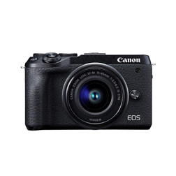 EOS M6 MK II 15-45 BK 数码相机