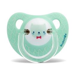 LATEX 夜光型安抚奶嘴 6~18个月  2个 DEER
