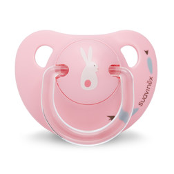 LATEX PACIFIER 安抚奶嘴 0-6个月 BUNNY PINK
