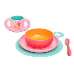 BOO STRAW CUP 儿童吸管水杯 粉色