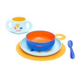 BOO STRAW CUP 儿童吸管水杯 蓝色