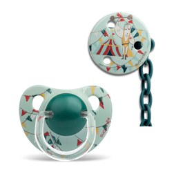 PREMIUM PACIFIER SOOTHER CHAIN 奶嘴链/CIRCUS