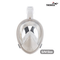 THE NICE Full Face Snorkeling Mask 潜水面罩 白色 SM