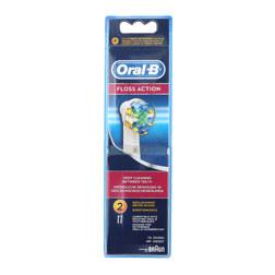 ORAL-B FLOSS ACTION 电动牙刷头 2支装