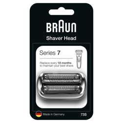 博朗7系列电动剃须刀网罩配件 刀头银色NEW