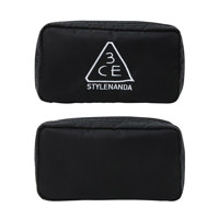 3CE COMPACT POUCH #BLACK 化妆包