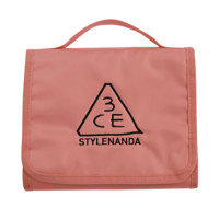 3CE WASH BAG_SMALL #PINK BEIGE 化妆包