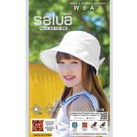 SALUA KIDS MASK DUN HAT 儿童防晒帽(WHITE)