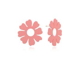FLEUR FLOWER EARRINGS(PINK) 耳饰