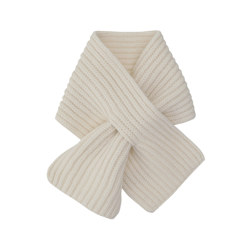 WOOL CASHMERE PETIT 围巾 CREAM
