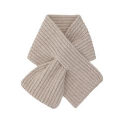 WOOL CASHMERE PETIT 围巾 OATMEAL