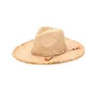 UNISEX BOHOL TASSEL DECOR RAFFIA HAT 男女同款遮阳帽