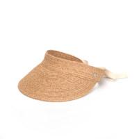 RAFFIA BAND SUN CAP AMMOUDI PEANUT 遮阳帽