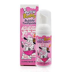 SNOW BUDDY 泡沫牙膏 草莓