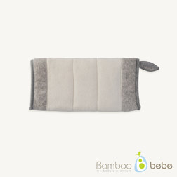 纯竹纤维 哺乳枕 灰色
