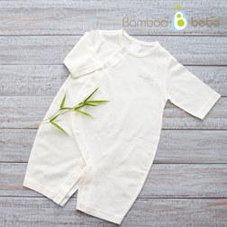 纯竹纤维 婴儿连体衣 80号 6~12个月