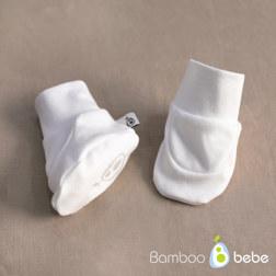 纯竹纤维 花朵图文 婴儿护脚套 0~6个月