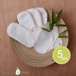 纯竹纤维 护垫5张套装