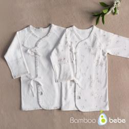 纯竹纤维 婴儿上衣 带图