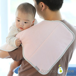 纯竹纤维 婴儿拍嗝垫 粉色