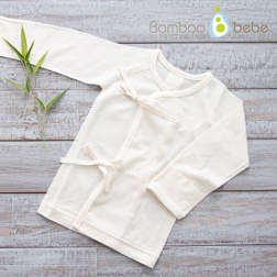 纯竹纤维 婴儿细绳上衣
