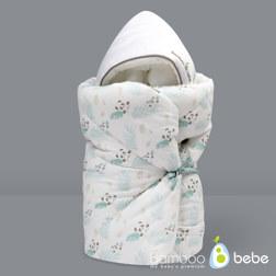 纯竹纤维 婴儿抱被 Mint熊猫