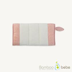 纯竹纤维 哺乳枕 粉色