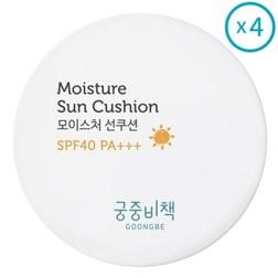 MOISTURE SUN CUSHION 儿童气垫防晒霜 SPF40 12*4ea