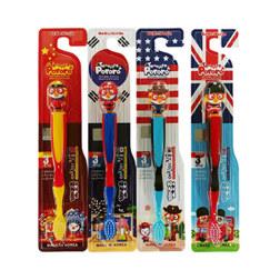 国家版儿童牙刷3+1