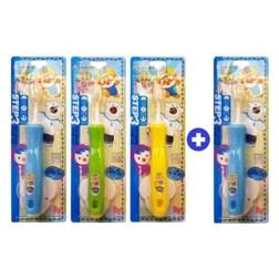 儿童硅胶牙刷3+1