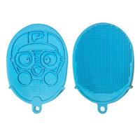 硅胶淋浴手套——蓝色