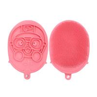硅胶淋浴手套——粉色
