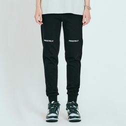 UTILITY JOGGER FIT SWEAT PANTS_BLACK_S