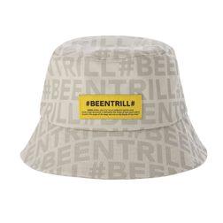 BEENTRILL MONOGRAM BUCKET HAT_L/BEIGE_M