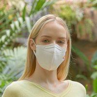 ILE 抗菌防水可水洗 Quad口罩1 米色 M